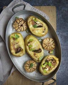 Pommes de terres farcies à la raclette pour 4 personnes - Recettes Elle à Table