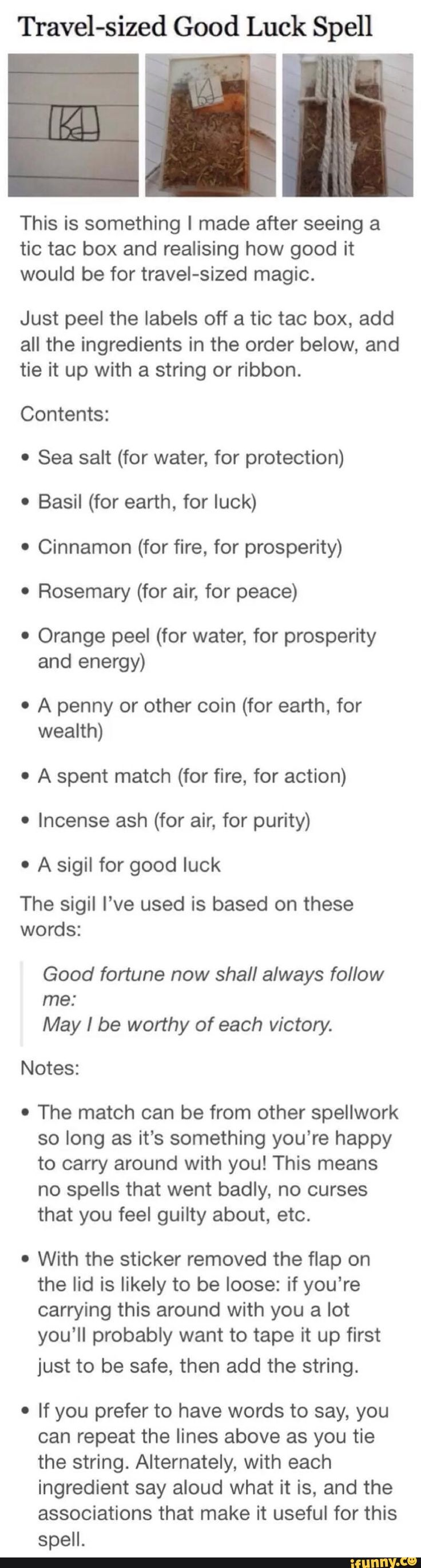 goodluck, spell, witch, witchcraft