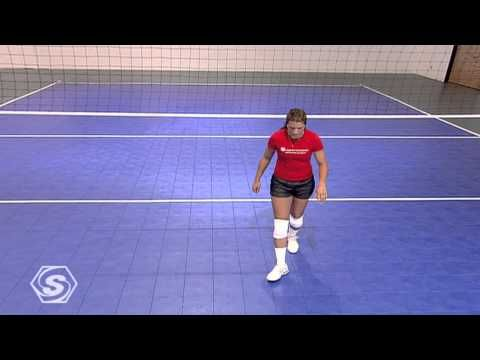Volleyball: Attack Approach with Misty May-Treanor - YouTube