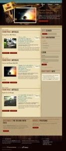 Free WordPress Theme: Grunge