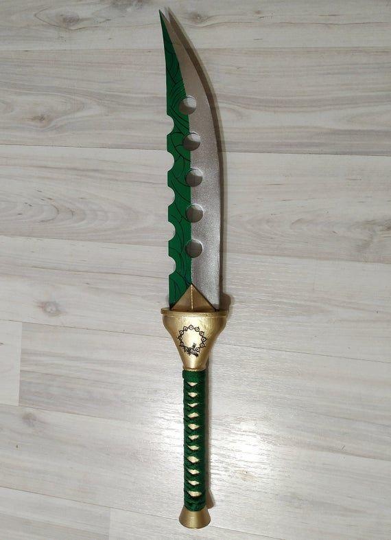 The Seven Deadly Sins Meliodas Knife+Scabbard Dagger Cosplay Props Weapon Toys