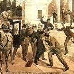 Ο πρώτος δημόσιος χώρος, στον οποίο διαδόθηκε η χαρτοπαιξία στην Αθήνα ήταν το «καφενείο των Αγωνιστών» (Μητροπόλεως και Αιόλου). Το 1836 λαμβάνονται τα πρώτα μέτρα κατά της χαρτοπαιξίας και ορίζεται ότι οι «λέσχες» πρέπει να λειτουργούν 20 χιλιόμετρα μακριά από τις κατοικημένες περιοχές (υπερβολικά μεγάλη απόσταση λόγω και της ανυπαρξίας των μεταφορικών μέσων).