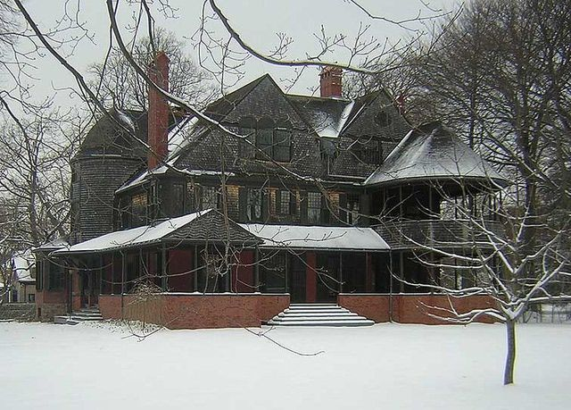 About Shingle Style Architecture: The Isaac Bell House in Newport, RI, designed by McKim, Mead and White