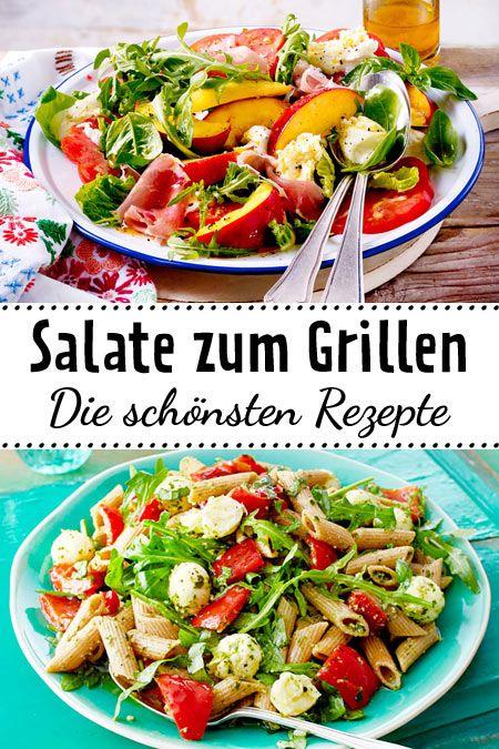 Salate Zum Grillen Das Schmeckt Zu Würstchen Steak Co šaláty