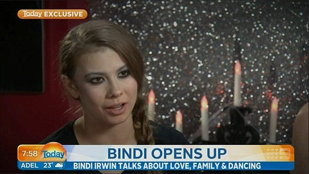Bindi Irwin chats with her mother and brother about her boyfriend, family life and perfroming on Dancing With The Stars