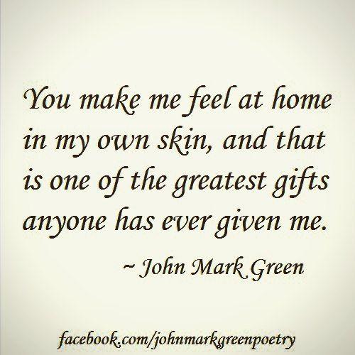 """The Gift"" (short version) - romantic poetry by John Mark Green"