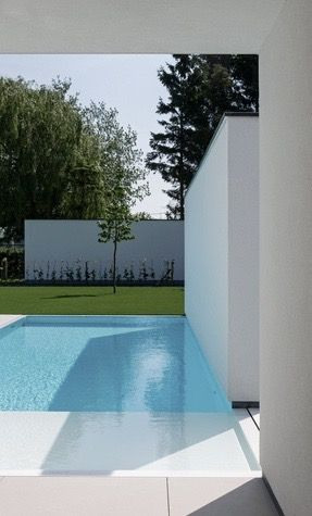 72 best Pool images on Pinterest Modern homes, Swimming pools - indoor pool bauen traumhafte schwimmbaeder