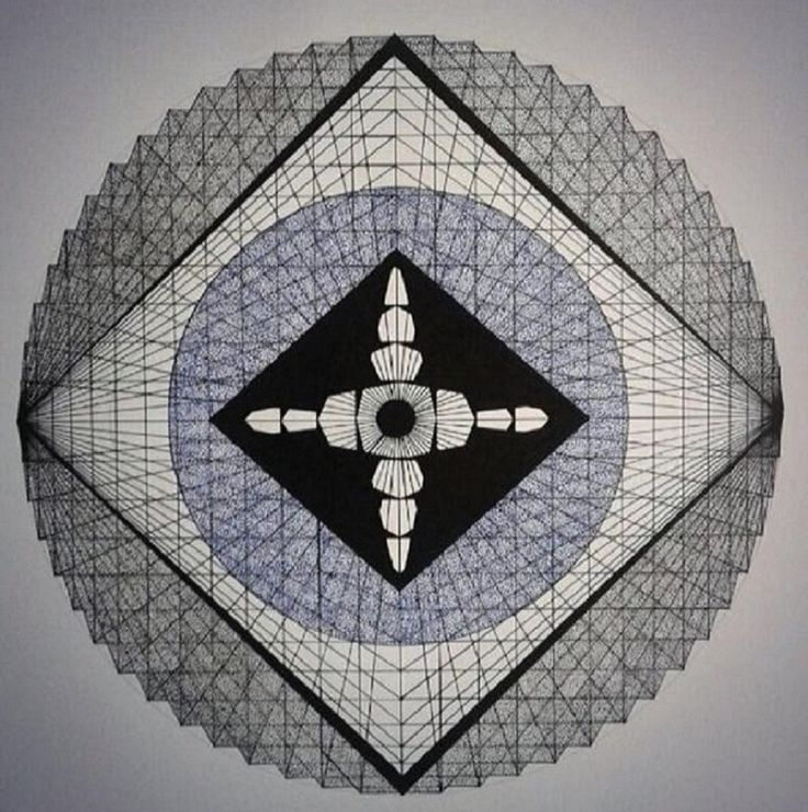 Eye  #leinwerrit #art #graphic #illustration #sacredgeometry