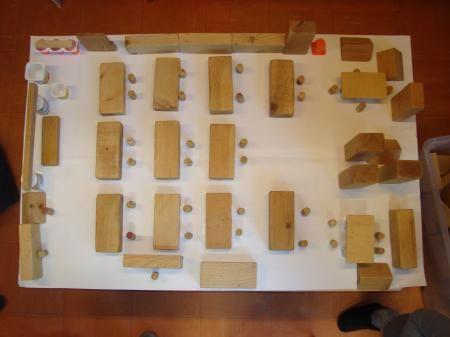 maquette maken | De maquette van de klas : 2de leerjaar stokkel