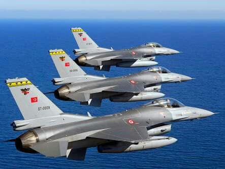 Turkish Air Force Lockheed-Martin F-16C Block 52+ Fighting Falcons
