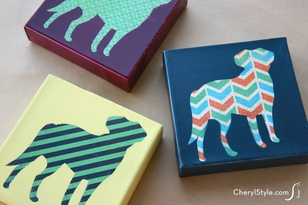 Paint Your Pet Canvas Craft And Cork