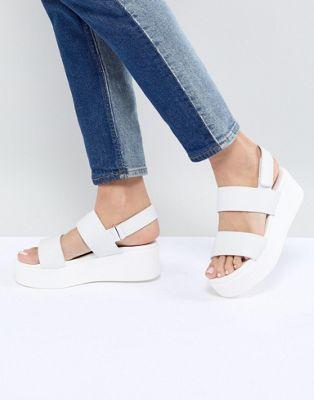 bfefe66c44ee Steve Madden Rachel Flatform Sandals