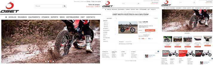 Tienda on line osetbikes motos eléctricas