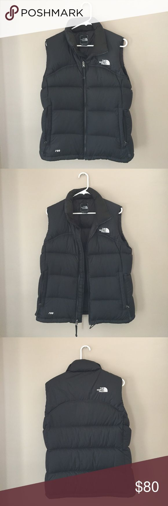 NWT The North Face Women's Nuptse Vest Black Sz M NEW WITH TAGS - NEVER WORN - Women's Nuptse Vest with 700 Fill Goose Down. Black size medium. The North Face Jackets & Coats Vests