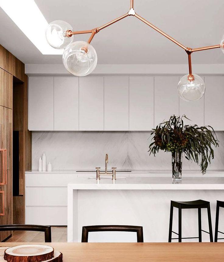 "Designer Kitchen Sponges on Instagram: ""Watts Studio kitchen perfection pic via @est_living design by @watts.studio #kitchen #kitchendesign #kitchenstyle #kitchendecor #light…"""