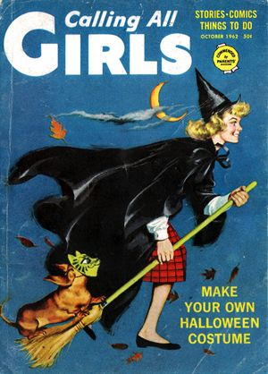 Calling All Girls Magazine Halloween Issue