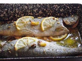 Max konyhája: Vajas-citromos sült, szivárványos pisztráng