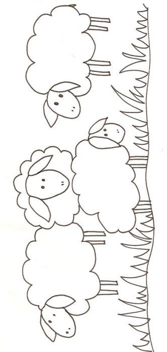 ❤ =^..^= ❤ coloriage de mouton et agneaux - Tête à modeler