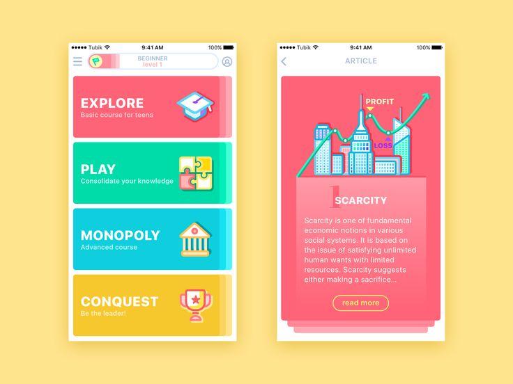 Moneywise app tubik studio2x
