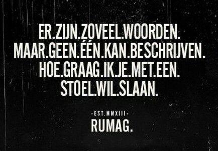 Woorden #Rumag