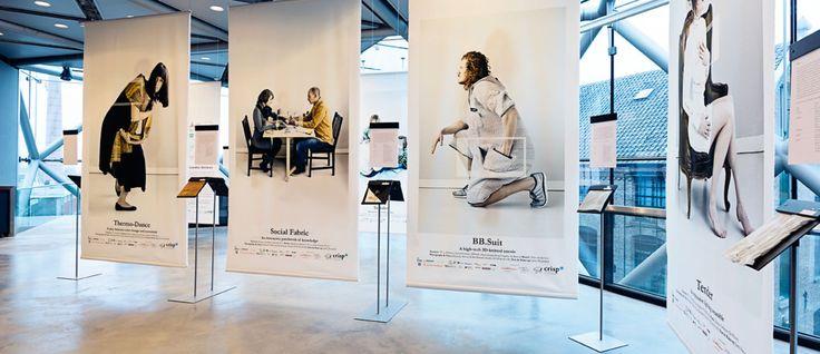 Smart Textiles – Wearable Services   exhibition at Textiel Museum Tilburg (NL)   21 Januari 2015 - 22 Februari 2015