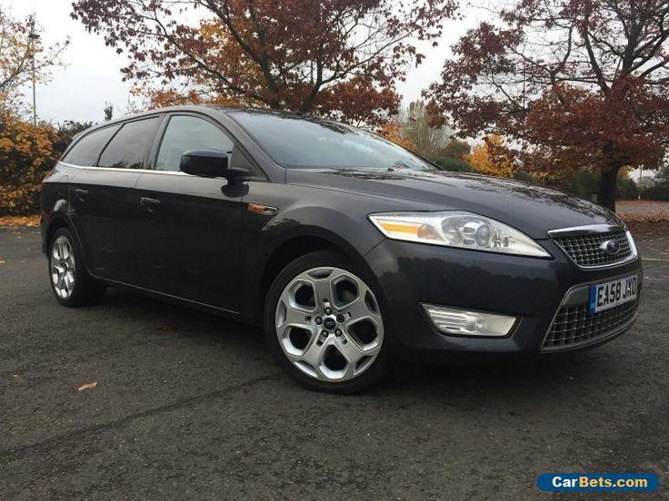 2008 FORD MONDEO 1.8 Tdci TITANIUM X Estate car Grey  #ford #mondeotitaniumxtdci125 #forsale #unitedkingdom