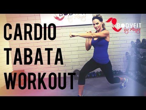 High Intensity Fat Burning Tabata Workout in 4K 22 min Part 2 - YouTube