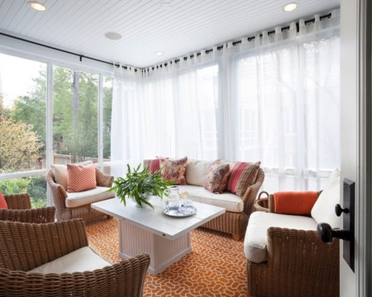 17 Best Ideas About Sunroom Window Treatments On Pinterest