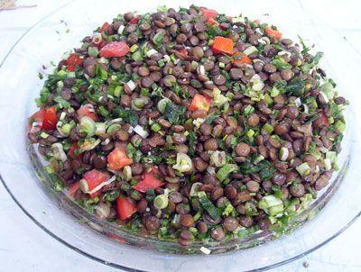 Diyet Mercimek Salatası   Diyet Listesi   Zayıflama Yöntemleri