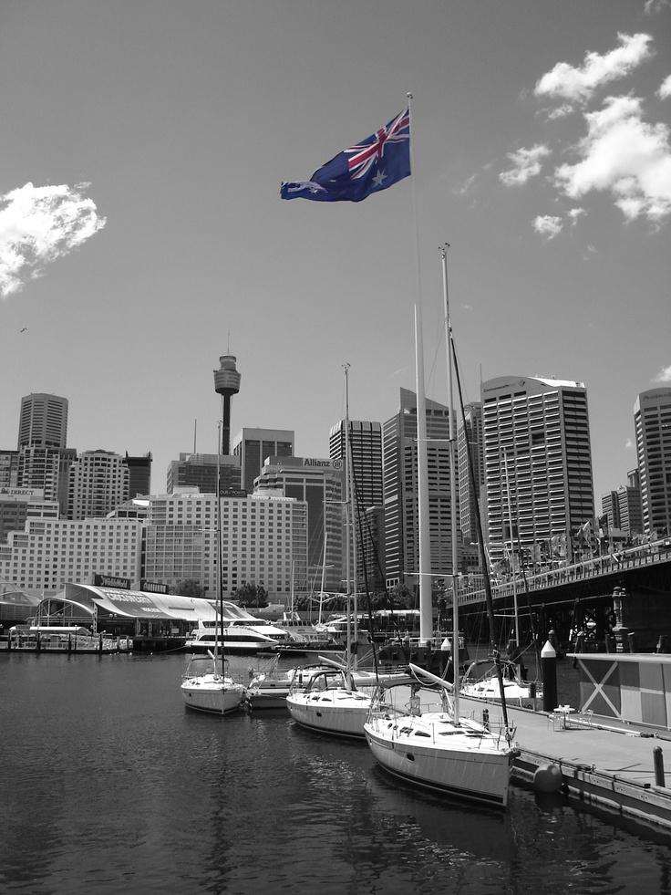 Darling Harbor, Sydney, Australia