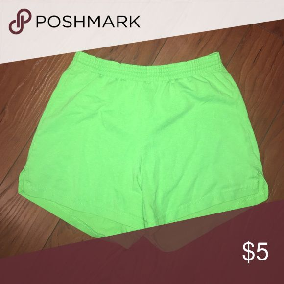 Lime Green Soffe Shorts like green soffe shorts Soffe Shorts