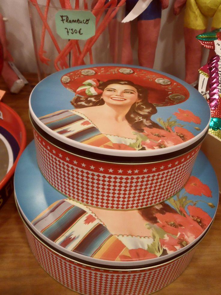 Cajas metálicas charra mexicana.