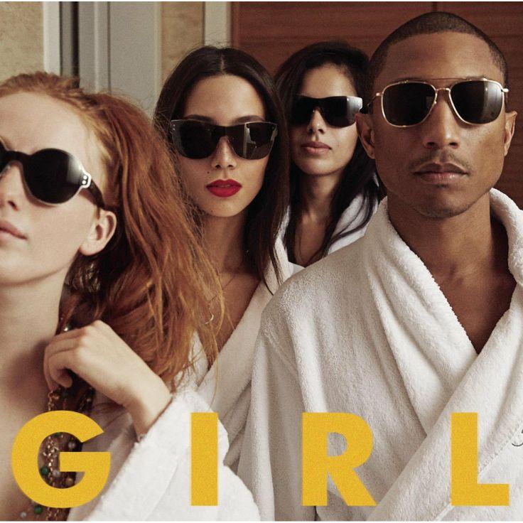 G I R L / Pharrell Williams  http://encore.greenvillelibrary.org/iii/encore/record/C__Rb1371770