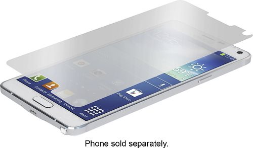 Zagg - InvisibleShield Mirror Glass Screen Protector for Samsung Galaxy Note 4 Cell Phones
