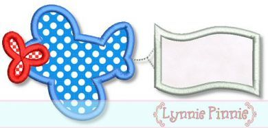 Embroidery Designs - Chunky Plane with Blank Banner Applique 4x4 5x7 6x10 - Welcome to Lynnie Pinnie.com! Instant download and free applique machine embroidery designs in PES, HUS, JEF, DST, EXP, VIP, XXX AND ART formats.