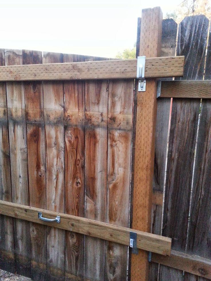 best 25 fence panels ideas on pinterest wood fencing. Black Bedroom Furniture Sets. Home Design Ideas