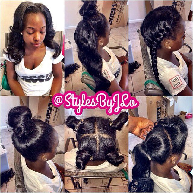 Magnificent 1000 Images About Sew Ins On Pinterest Follow Me Virgin Hair Short Hairstyles For Black Women Fulllsitofus