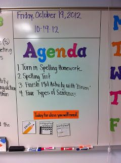 classroom whiteboard ideas. adventures of a grade teacher classroom management white board sections for weekly calendar and agenda whiteboard ideas
