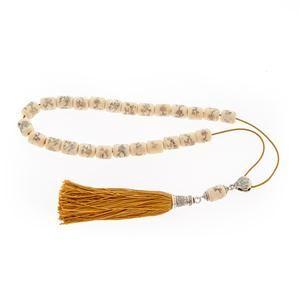 Animal Bone Worry Beads (Komboloi) - Sterling Silver 925