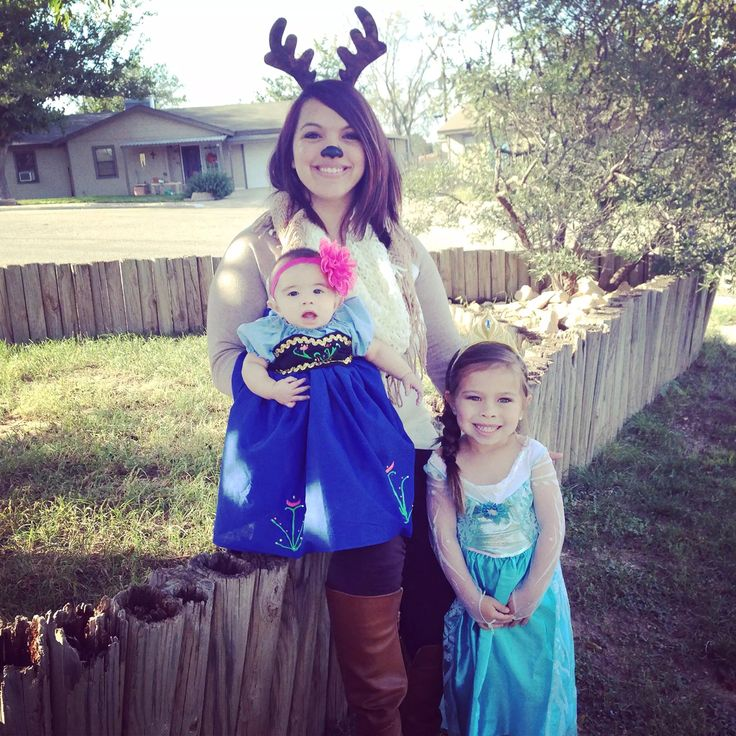 Frozen Costumes Elsa Costume Baby Anna Costume Sven Costume Family Costumes