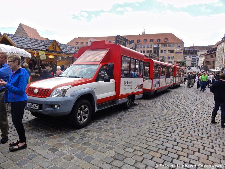 ... trenino turistico per city-tour  - Nürnberg (D) - 19 set 2015 - © Umberto Garbagnati -