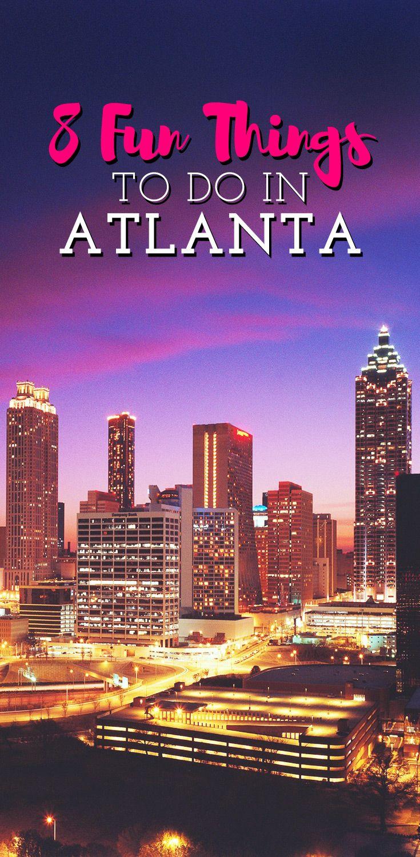 Best Atlanta Travel Ideas On Pinterest Atlanta Weekend In - Distance to atlanta georgia