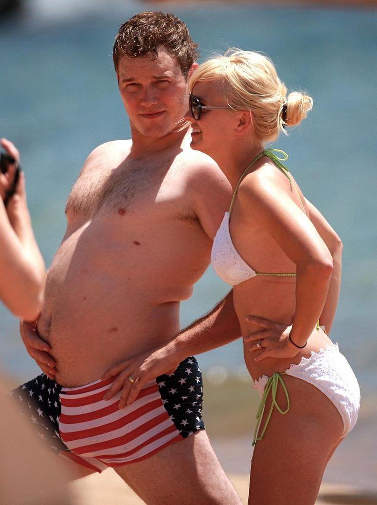 Anna Farris & Chris Pratt