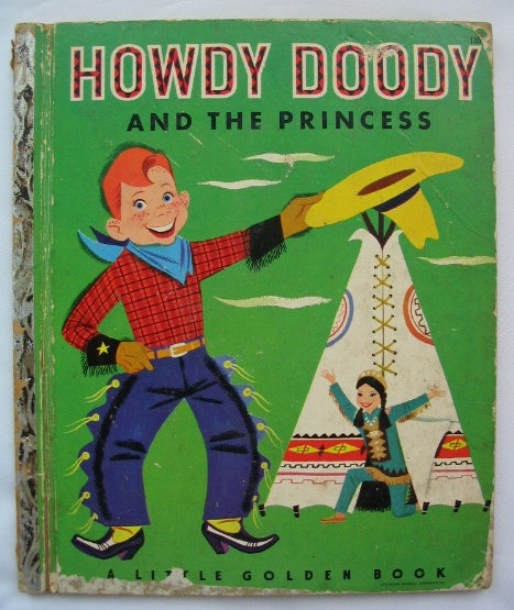 Howdy Doody And The Princess Vintage Little Golden Book By Edward Kean Illustrated