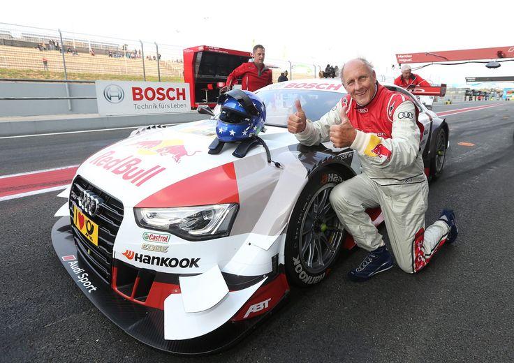 """DTM: Hans-Joachim Stuck als """"Renn-Taxifahrer"""" in Oschersleben"""