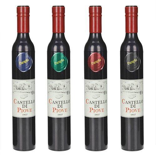 Botella de vino - paraguas #Original