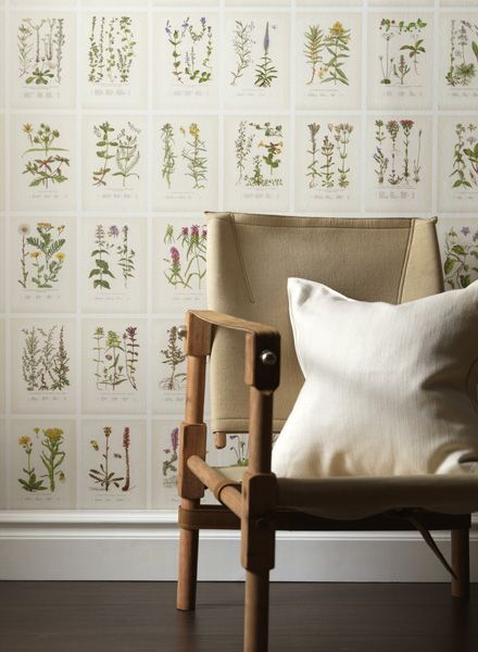 Botanica wallpaper from sandberg
