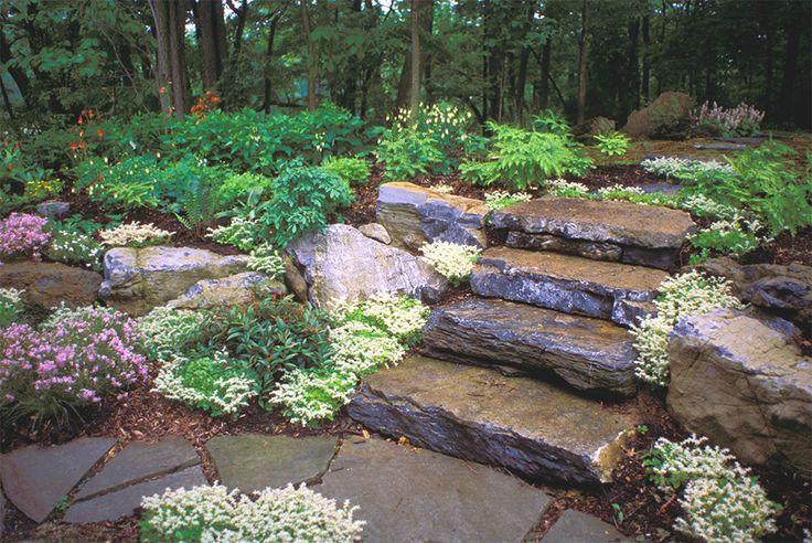Jardim privado em Lancaster, estado da Pensilvânia, USA.  Paisagismo: Larry Weaner.