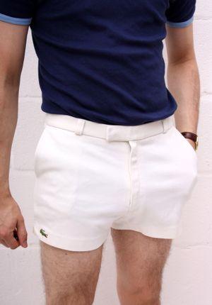 Lacoste Vintage 70's Tennis Shorts