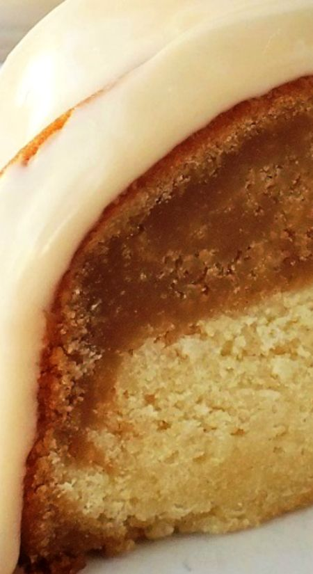 White Russian Bundt Cake ~  It's moist and flavorful, and the drizzling sauce is easy to prepare and use